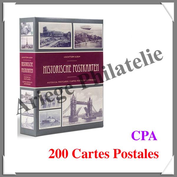 100 INTERCALAIRES POUR CLASSEMENT CPA BLANCS